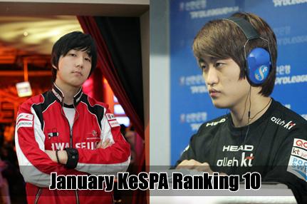 kespa ranking january 10