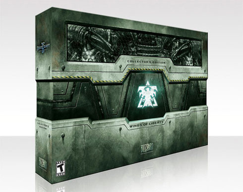 StarcraftII Collectors Edition